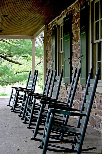 auction decorating are you off your rocker a cool rocking chair