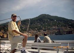 Joe at the Italian Riviera