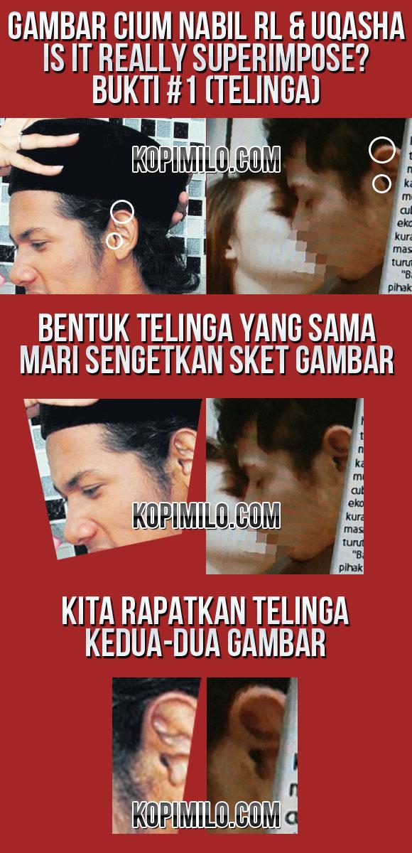 Aksi Cium Nabil