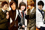 Boy Before Flowers