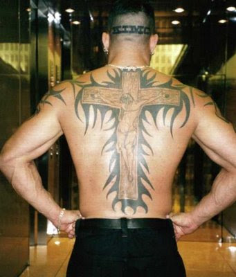 ideal cross tattoo places for trends of cross tattoos gallery 2011