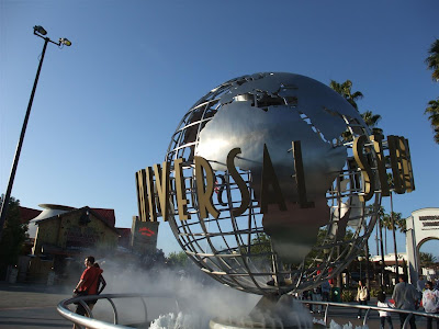 universal studio globe, california, hollywood