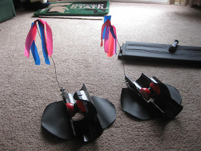 make ice fishing tipup out of pvc tube, design, hole, flag, spool