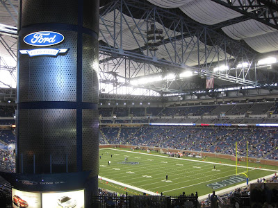 ford field, football stadium, detroit lions