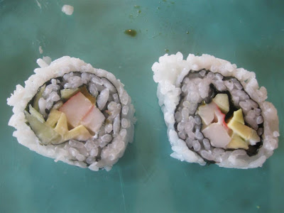 whats in a california roll, ingredients, sushi