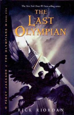 the last olympian, book 5, rick riordan, percy jackson and the olympians