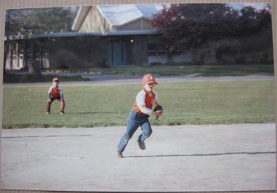 tball at bulman elementary, pitcher, grounder