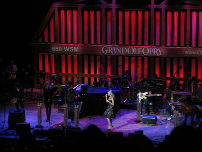 carrie underwood, live, ryman theater, grand ole opry, concert
