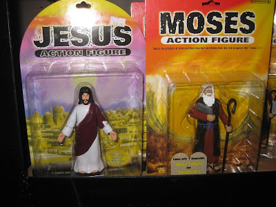 jesus action figure, moses, ten commandments, toy