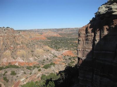 palo duro canyon, amarillo texas, campground, grand canyon