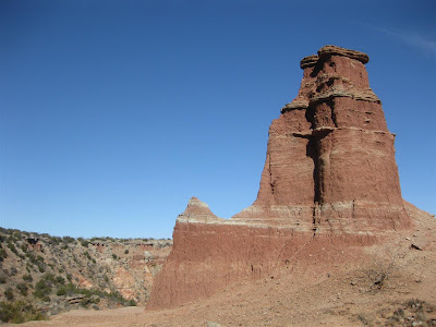 lighthouse rock, palo duro canyon, texas