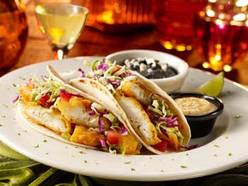 bostons restaurant, crispy fish taco