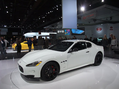 Maserati GranTurismo, detroit international auto show