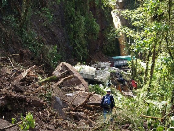 La Paz Waterfall - dupa cutremur