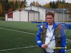 Tamperelainen tennisvalmentaja Olavi Lehto