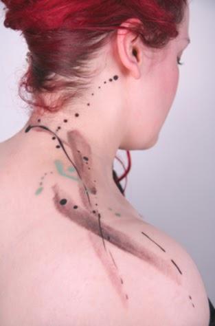 paint splatter and brush strokes - tattoos !? | antropophagie