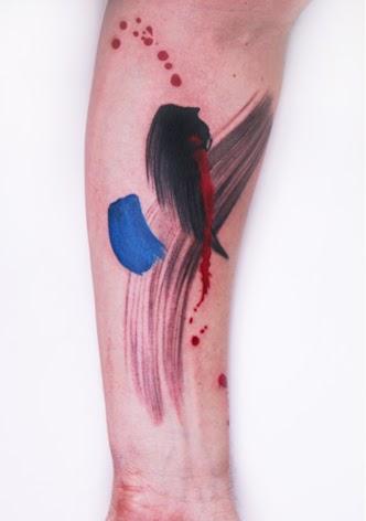 Paint Brush Tattoo