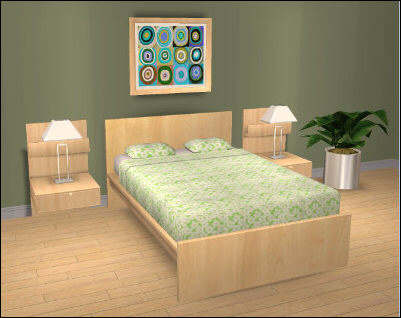 Advertising lab furniture 3d models in games and google earth for Ikea chambre malm