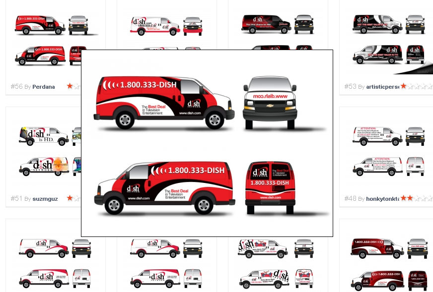 Redesign a Van Fleet for Dish Network