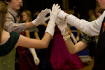 Dancing at a Civil War Ball