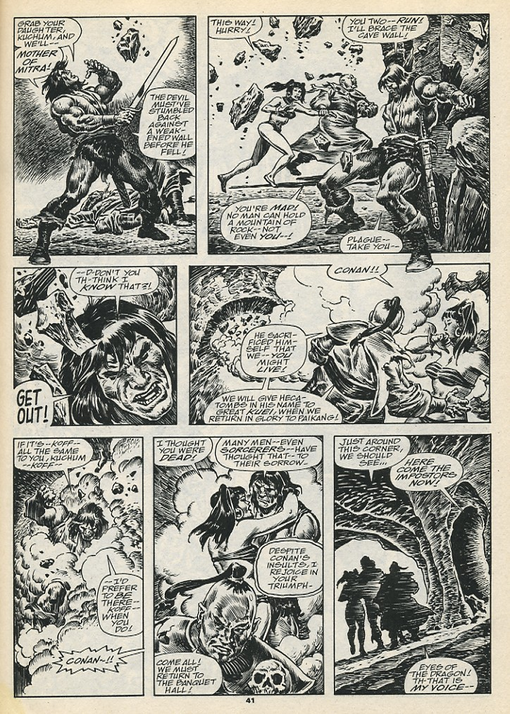 The Savage Sword Of Conan Issue #192 #193 - English 43