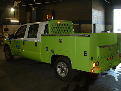 commercial truck success blog: scelzi short bed service body for