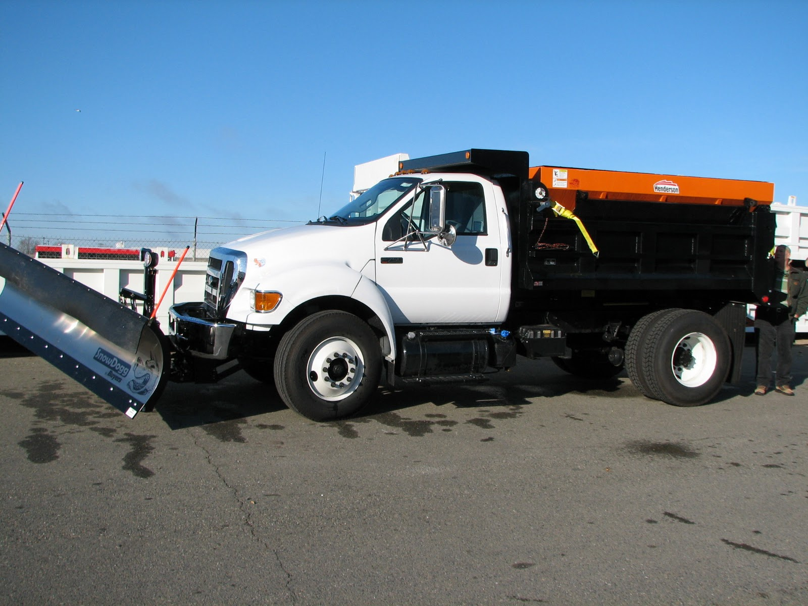 Commercial Truck Success Blog F750 Snowplow Dump Rig With