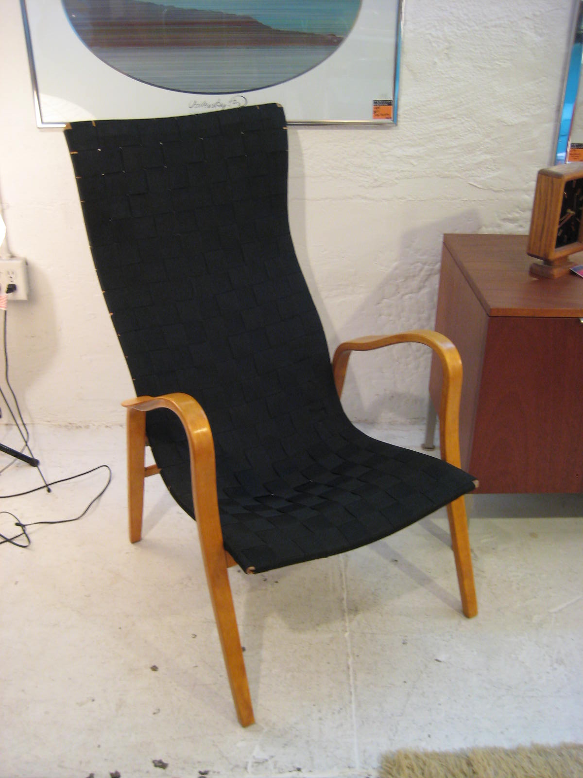 "RAD MOD: Pair of ""GRASSHOPPER"" chairs Circa 1950s / $380"