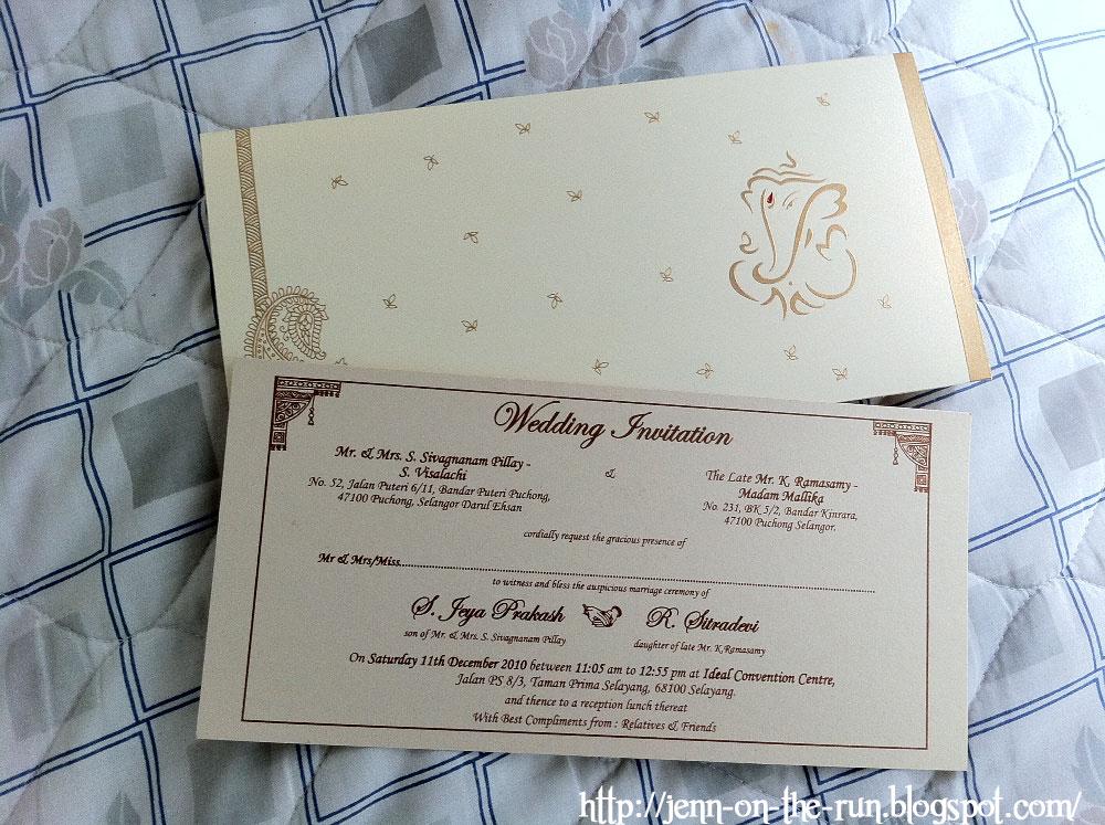 Jenn on the Run: Dec11 - Sitra\'s Wedding (my 1st indian wedding)