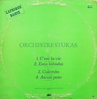 Orchestre Stukas Orchestre Stukas Boys Ekonda Saccadé 1 & 2