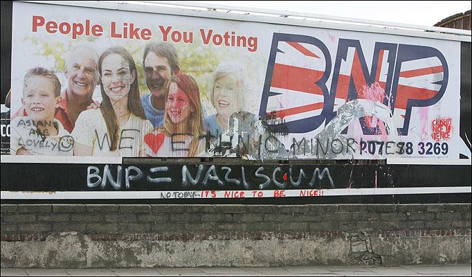 Nationalist Artwork Bnpbillboarddamage