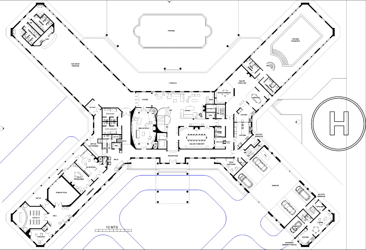 Mansion House Floor Plans