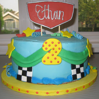 Cake Decorating Birthday Party Places : The Frosted Cake Shop: 1st Place Cake, 2nd Birthday Party