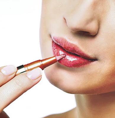 maquillaje belleza labios mujer
