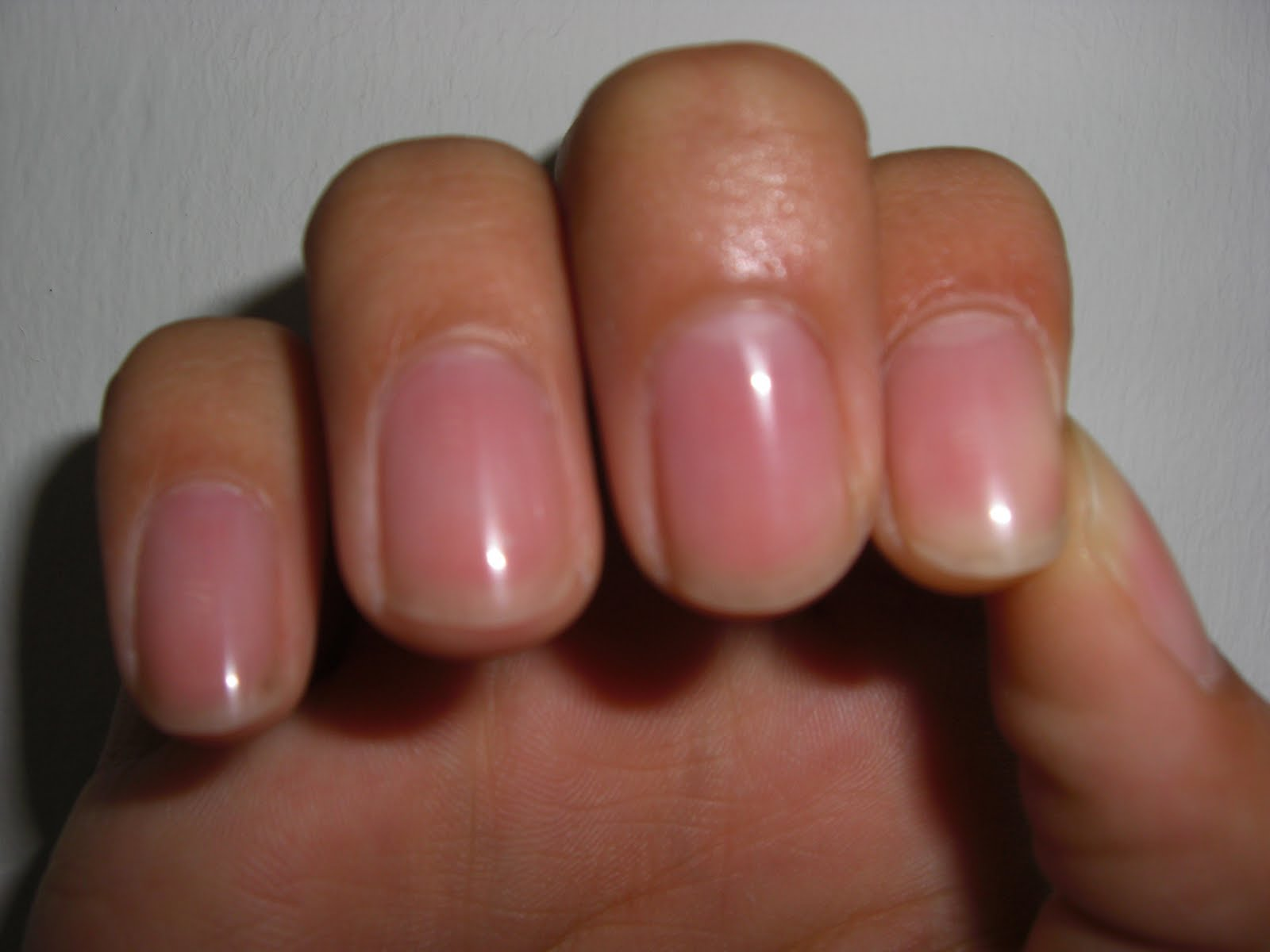 Nail Buffer Result After Using Before