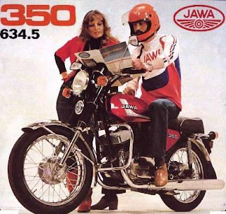 Motorka Jawa 350