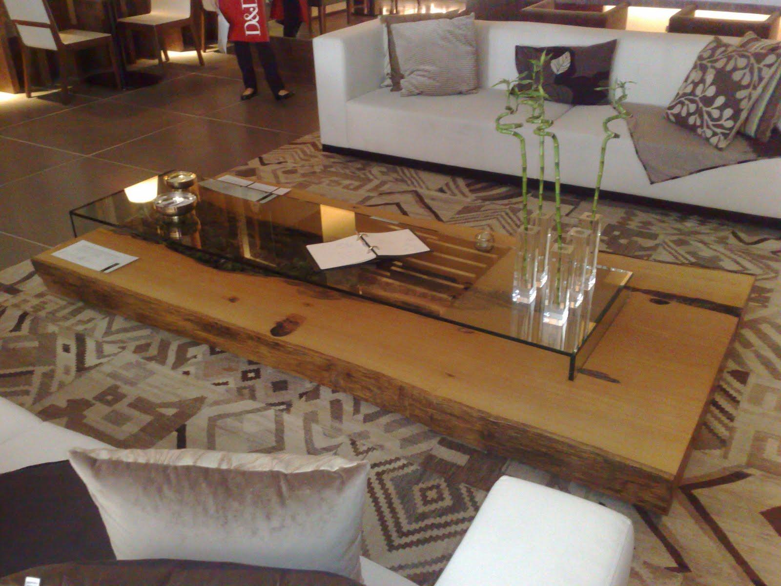 Studio gux design sustent vel mesa de centro em tronco - Mesa de tronco ...