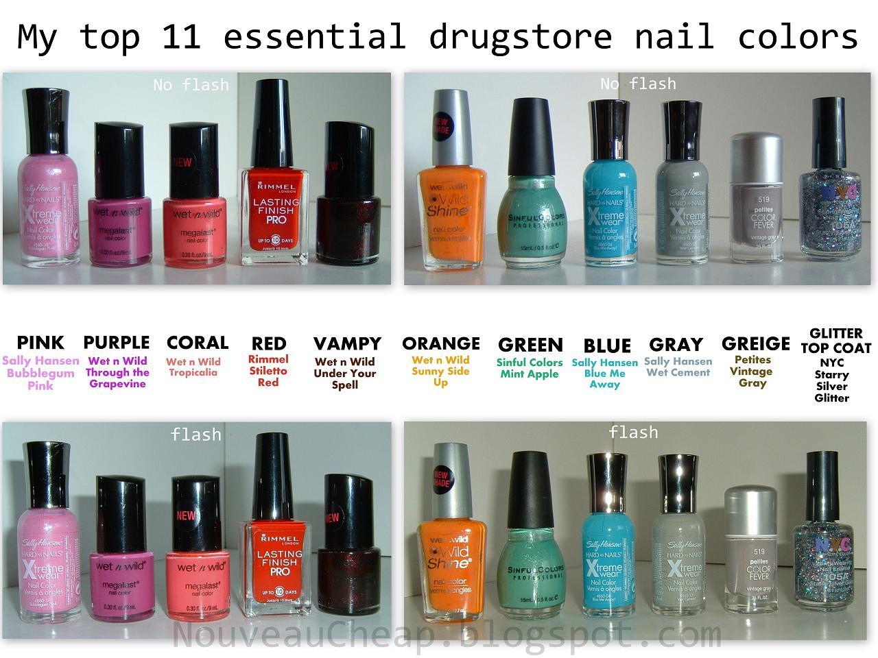 22 fabulous Essential Nail Polish Colors – ledufa.com
