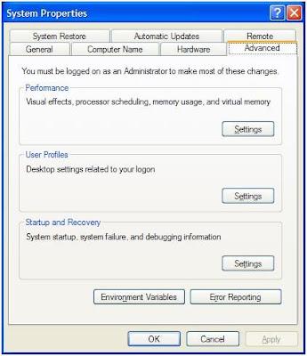 mengatur pilihan booting OS pada Boot-Screen