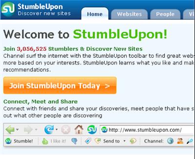 memanfaatkan Stumbleupon sebagai trik SEO untuk meningkatkan traffic