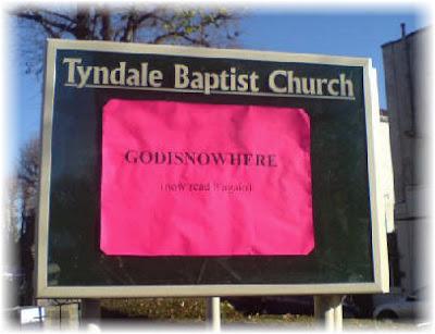 church sign UK
