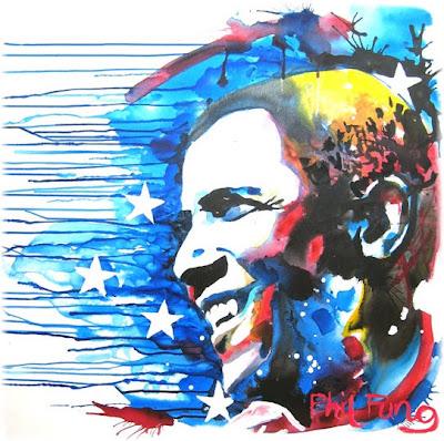 Obama Stripes