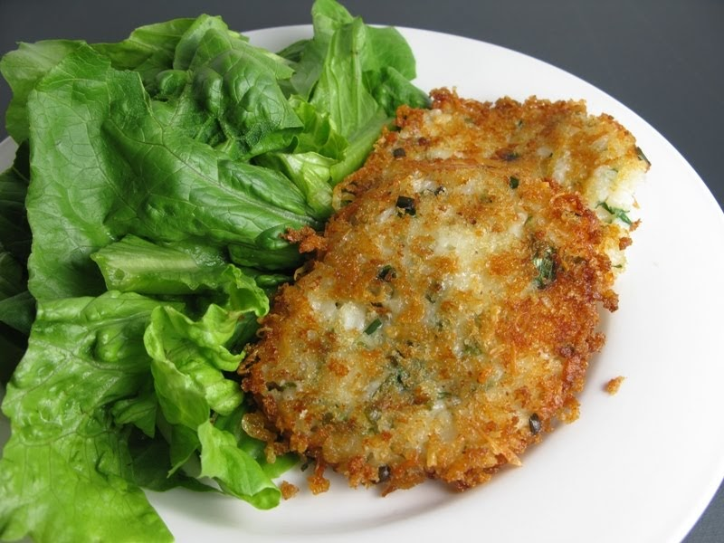 Risotto Cakes From Leftover Risotto