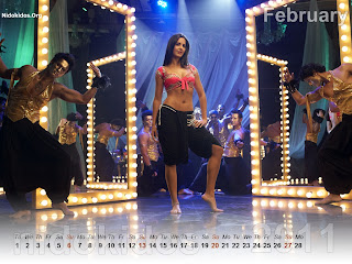 New Year 2011 Calendar, Akshay Katrina Desktop Wallpapers