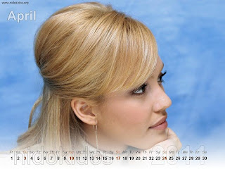 New Year 2011 Calendar, Jessica Alba Desktop Wallpapers