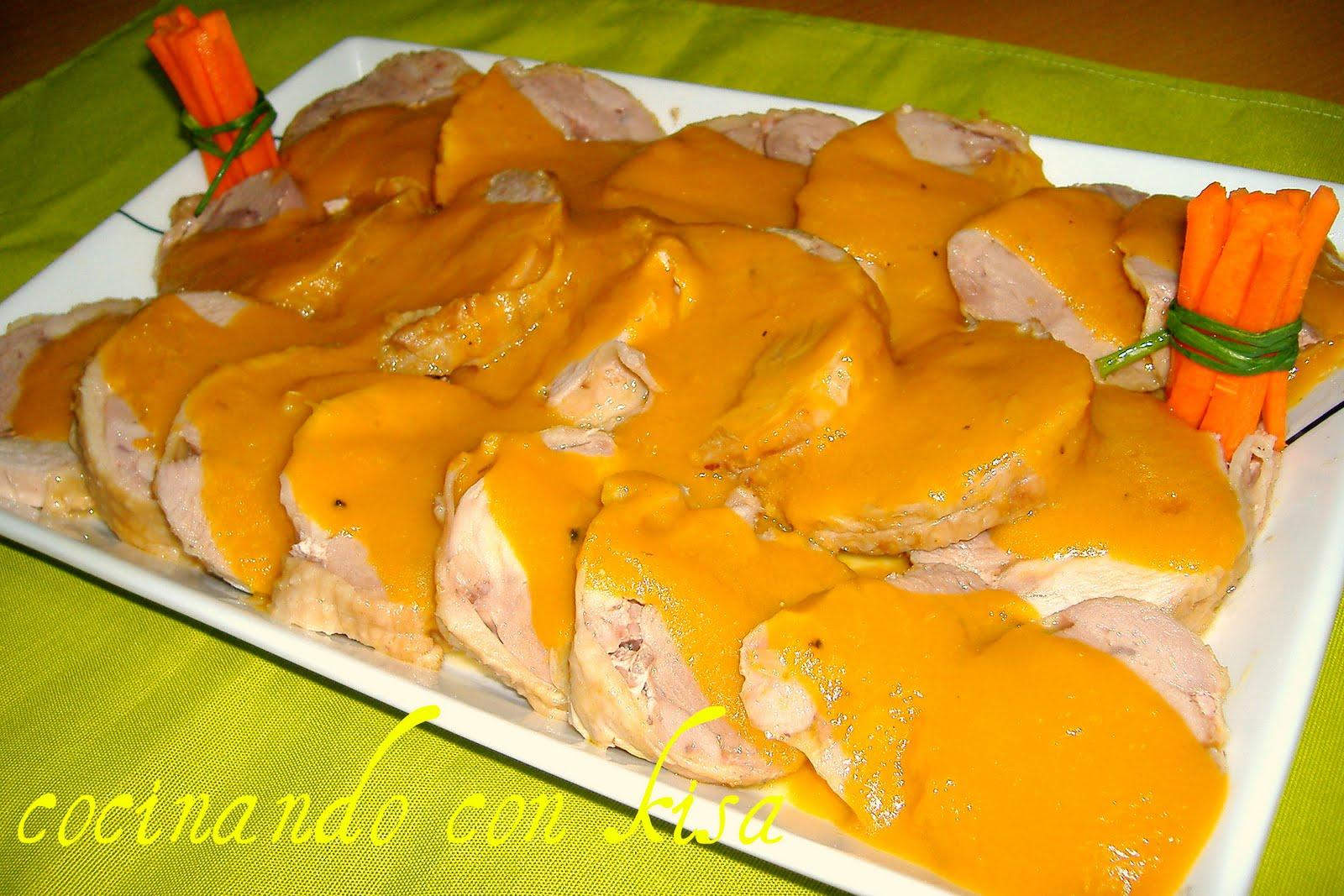 Cocinando con kisa rottis de pavo en salsa fussioncook for Cocinando con kisa