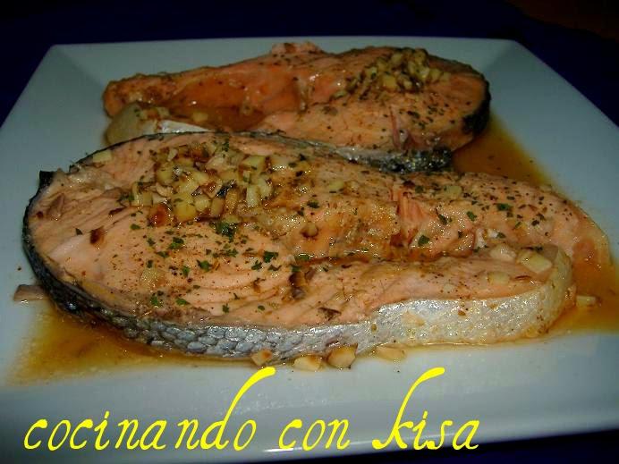 Cocinando con kisa salm n estilo arabe fussioncook for Cocinando con kisa
