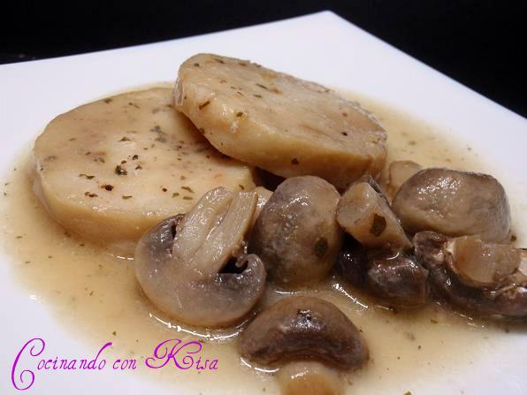 Como cocinar medallones de merluza receto - Cocinar merluza en salsa ...