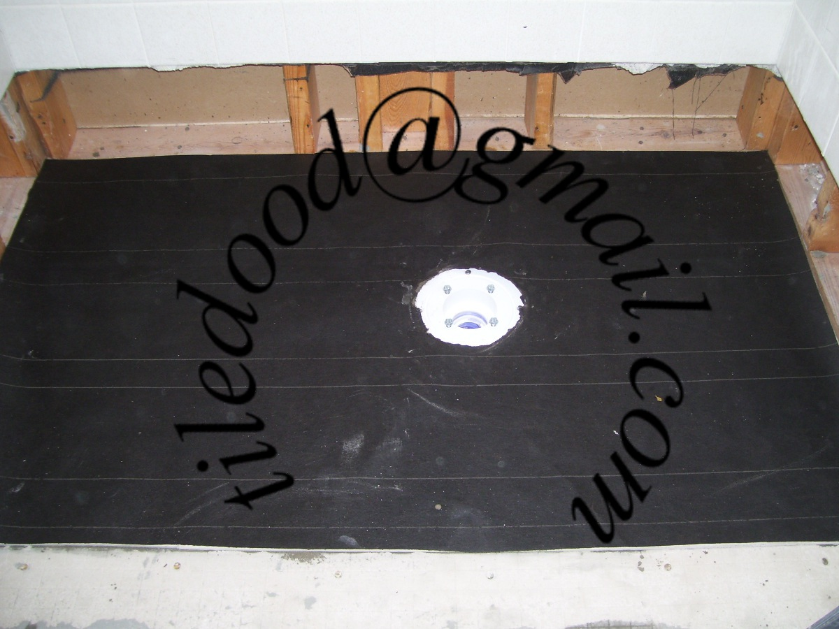 Tile The World Leaking Shower Pan Liner Anderson South