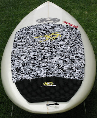 9'1 Paddle Surf Hawaii Ripper - Tail View